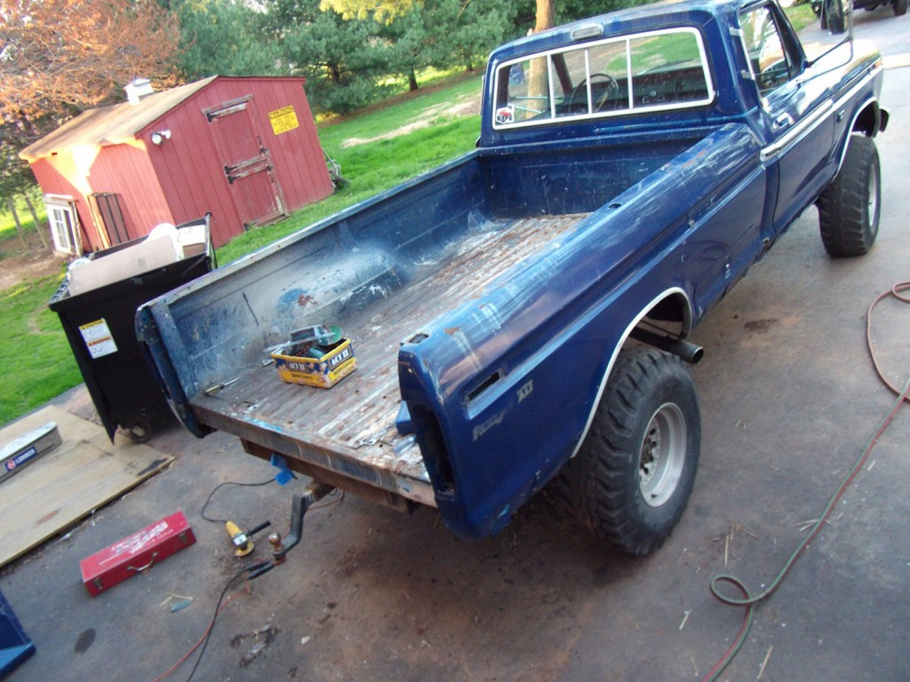 1973 F250 Before Rear