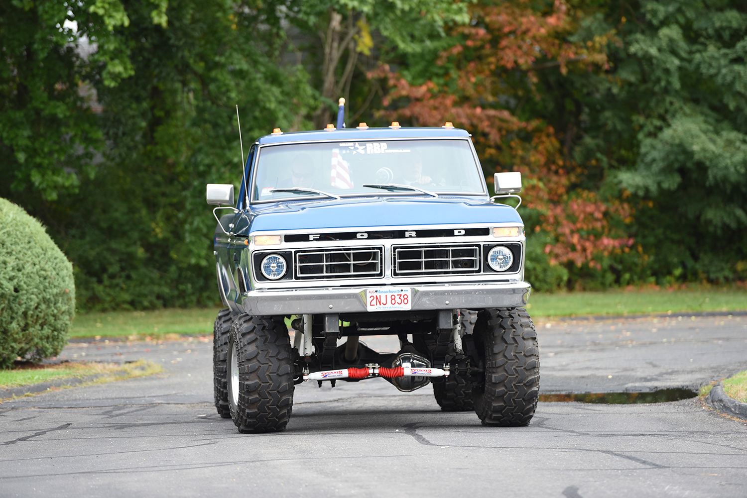 1974 Ford F350 Front