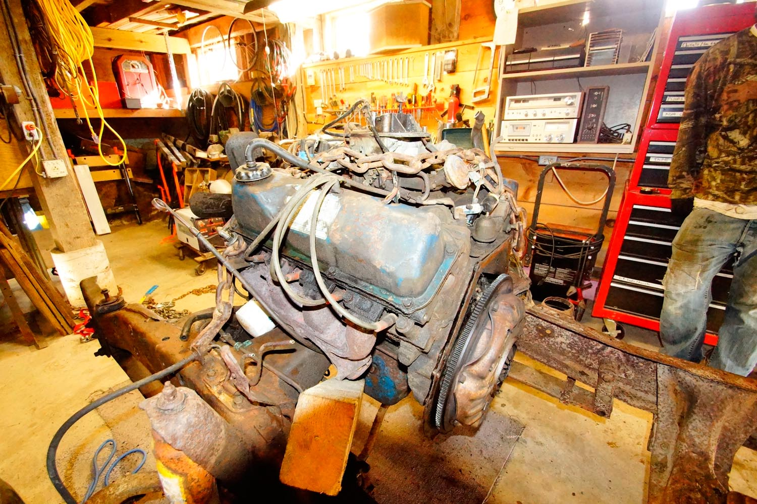 1978 Ford F250 Engine with no trans