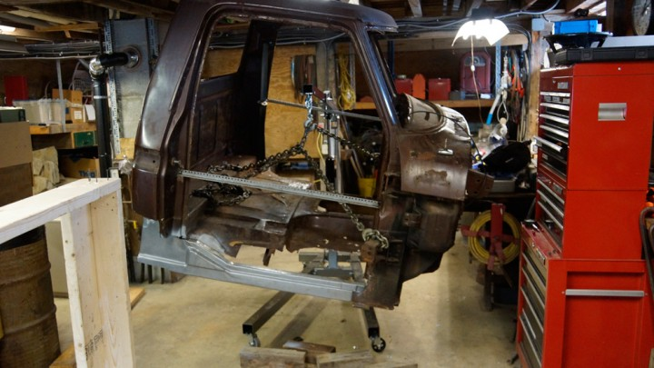 1978 Ford F250 cab rocker replacement