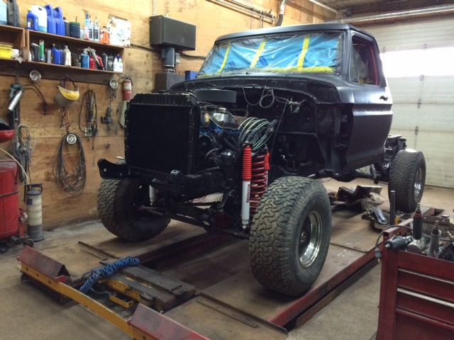1979 Ford F150 Custom reassembly