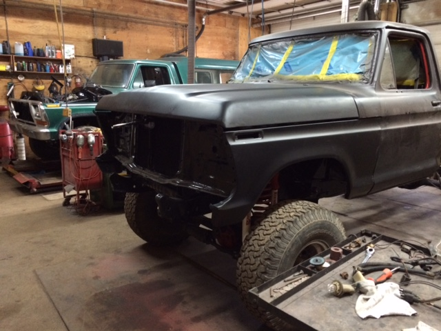 1979 Ford F150 Custom reassembly 2