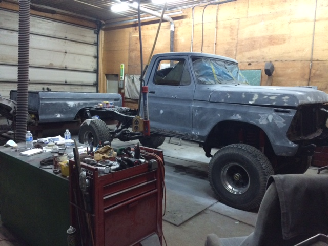 1979 Ford F150 Custom bodywork