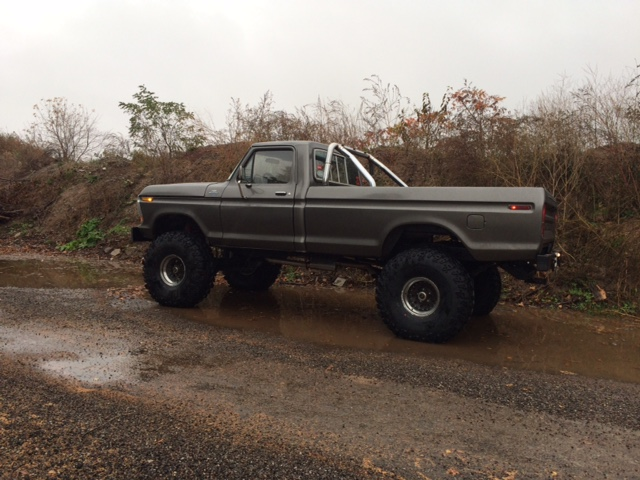 1979 Ford F150 Custom side