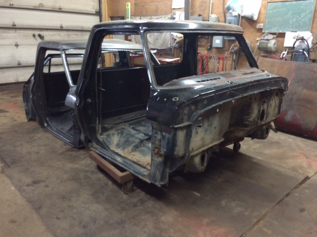 1979 Ford F150 Custom rebuild cab