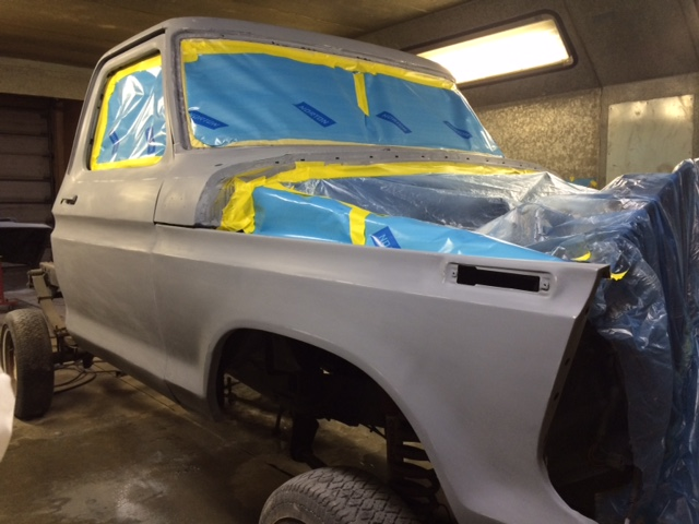 1979 Ford F150 Custom rebuild cab paint 2