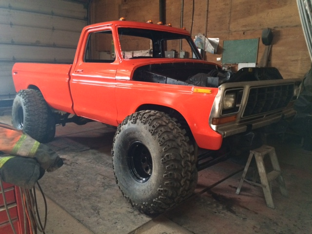 1979 Ford F150 Custom rebuild wheels