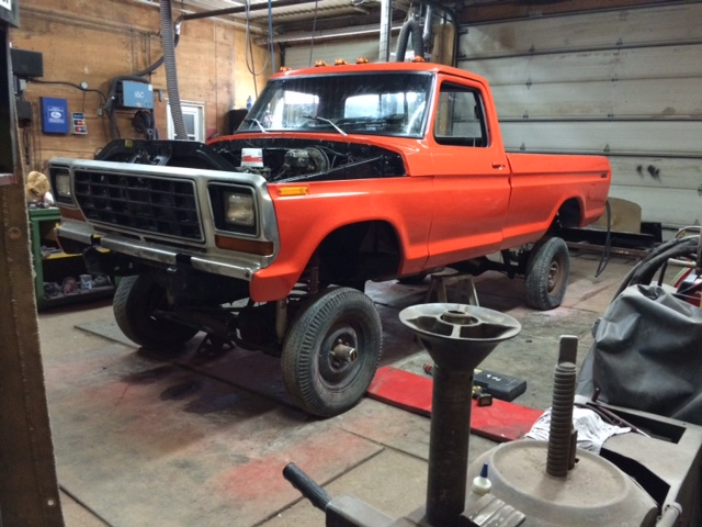 1979 Ford F150 Custom rebuild no leg day