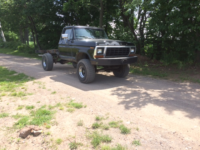 1979 Ford F150 Custom bed off