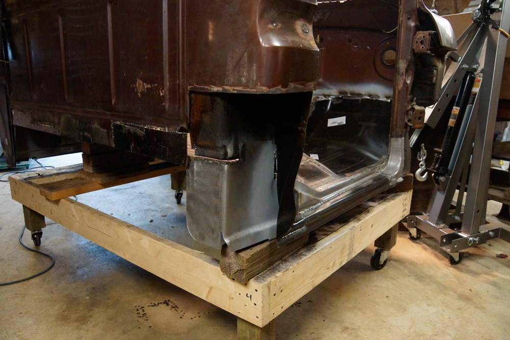 1978 Ford F250 cab floor repair 17
