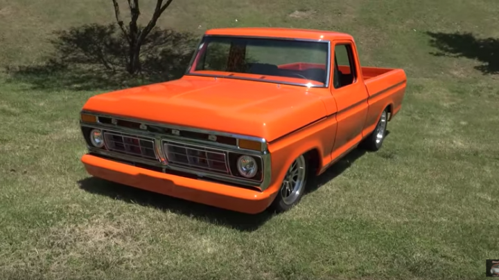 1976 Ford F100 show truck