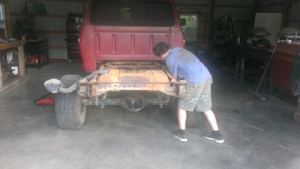 1979 Ford F-150 Before