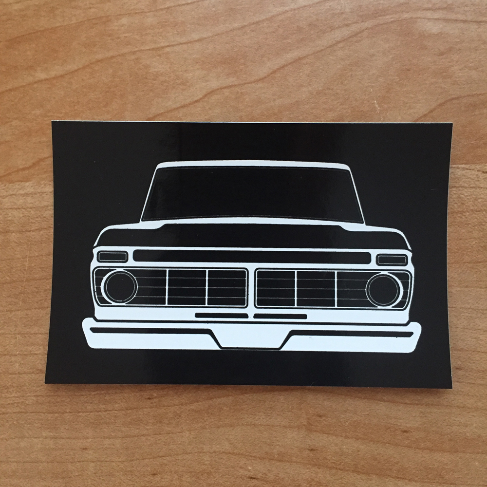 Dentside Grill Sticker 73 75