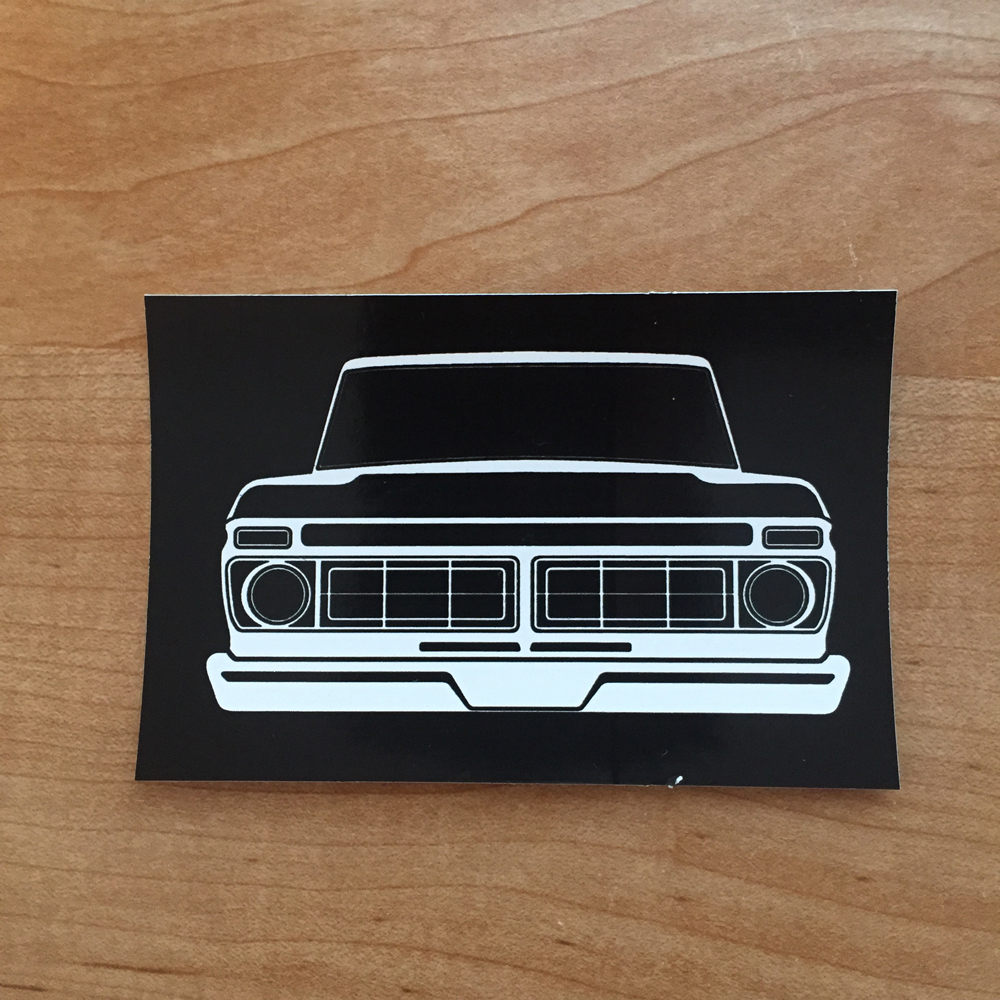 Dentside Grill Sticker 76 77