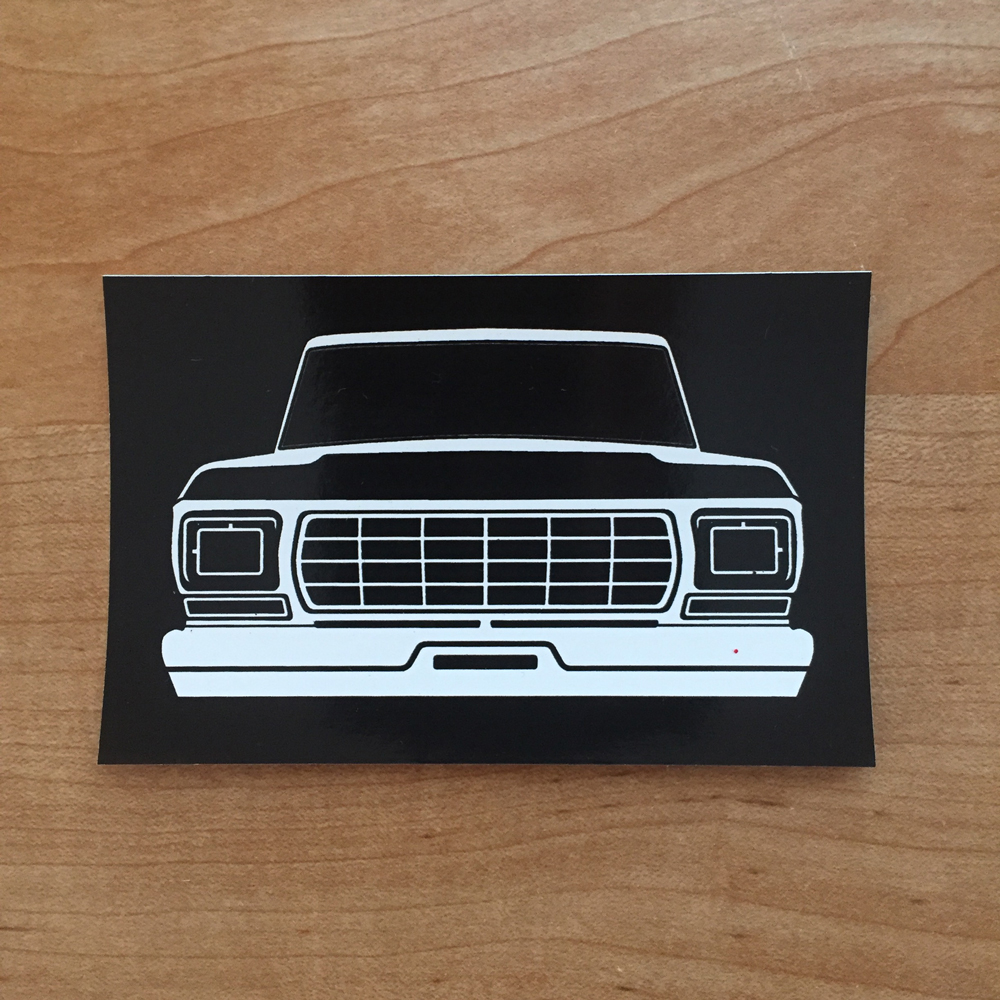 Dentside Grill Sticker 78 79