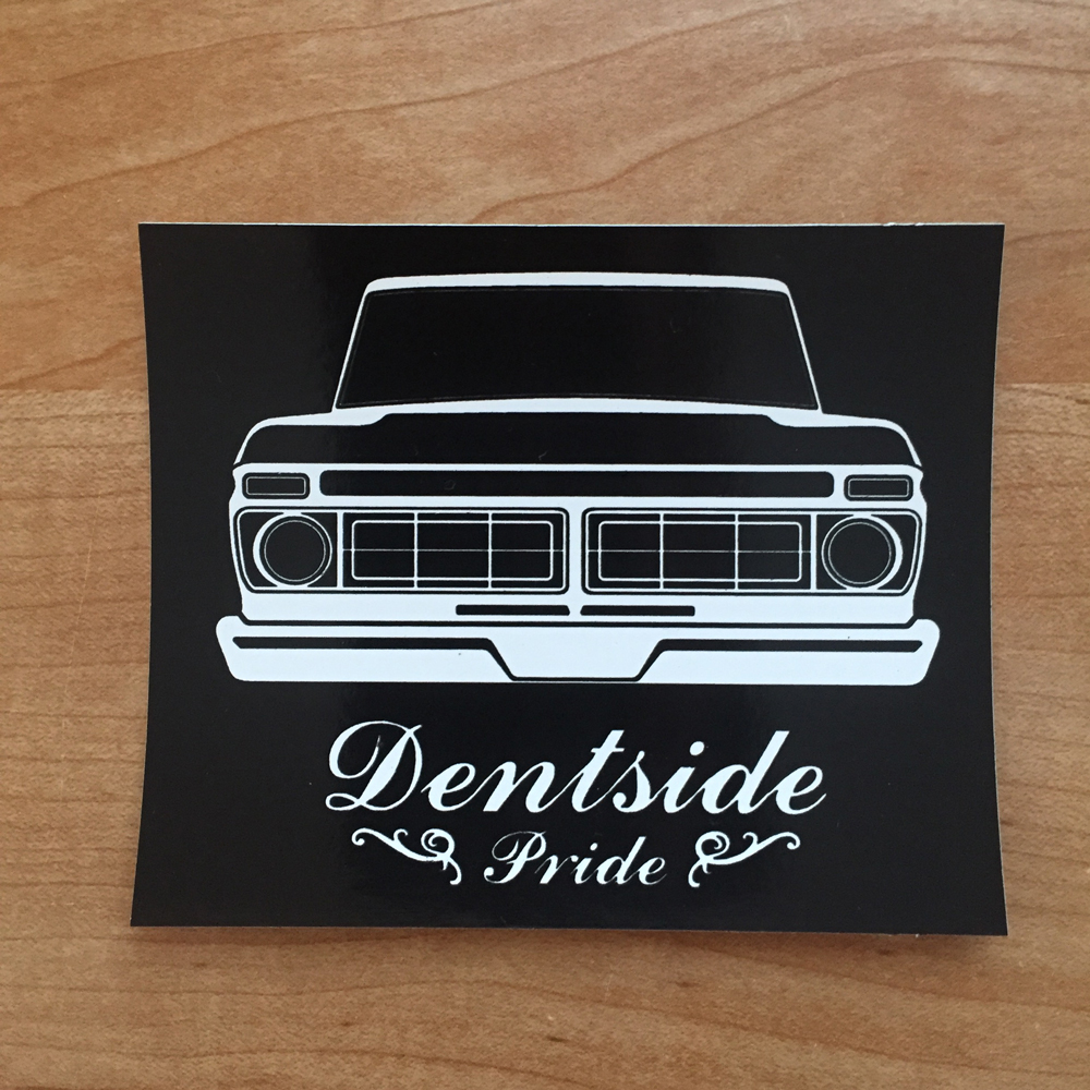 Dentside Pride Sticker 76 77