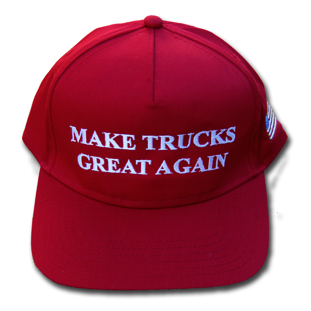 Make Trucks Great Again Hat Front Top