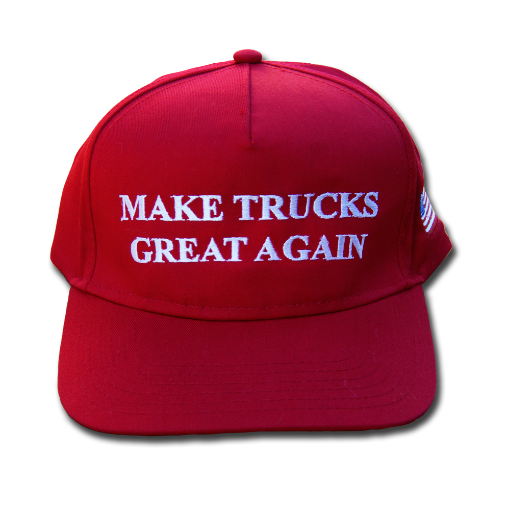 Make Trucks Great Again Hat Front
