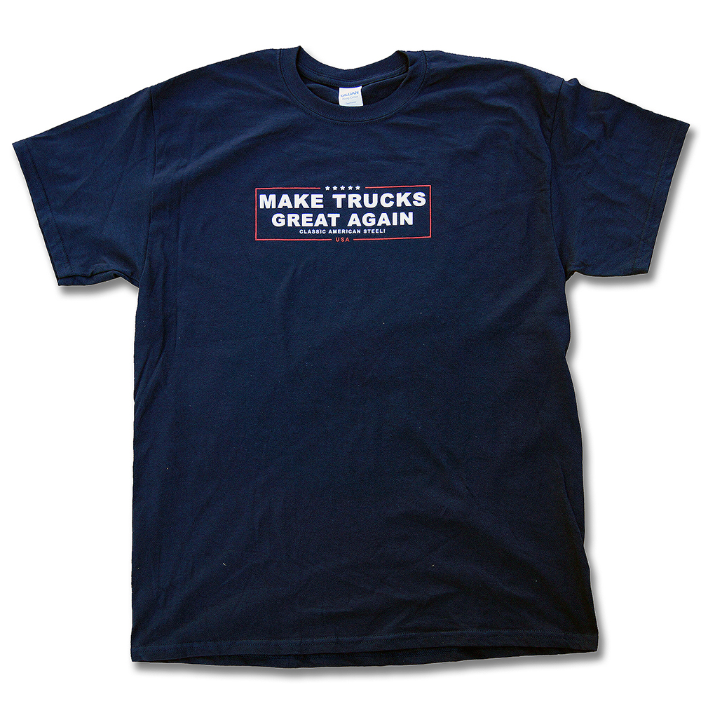 Make Trucks Great Again Shirt Front