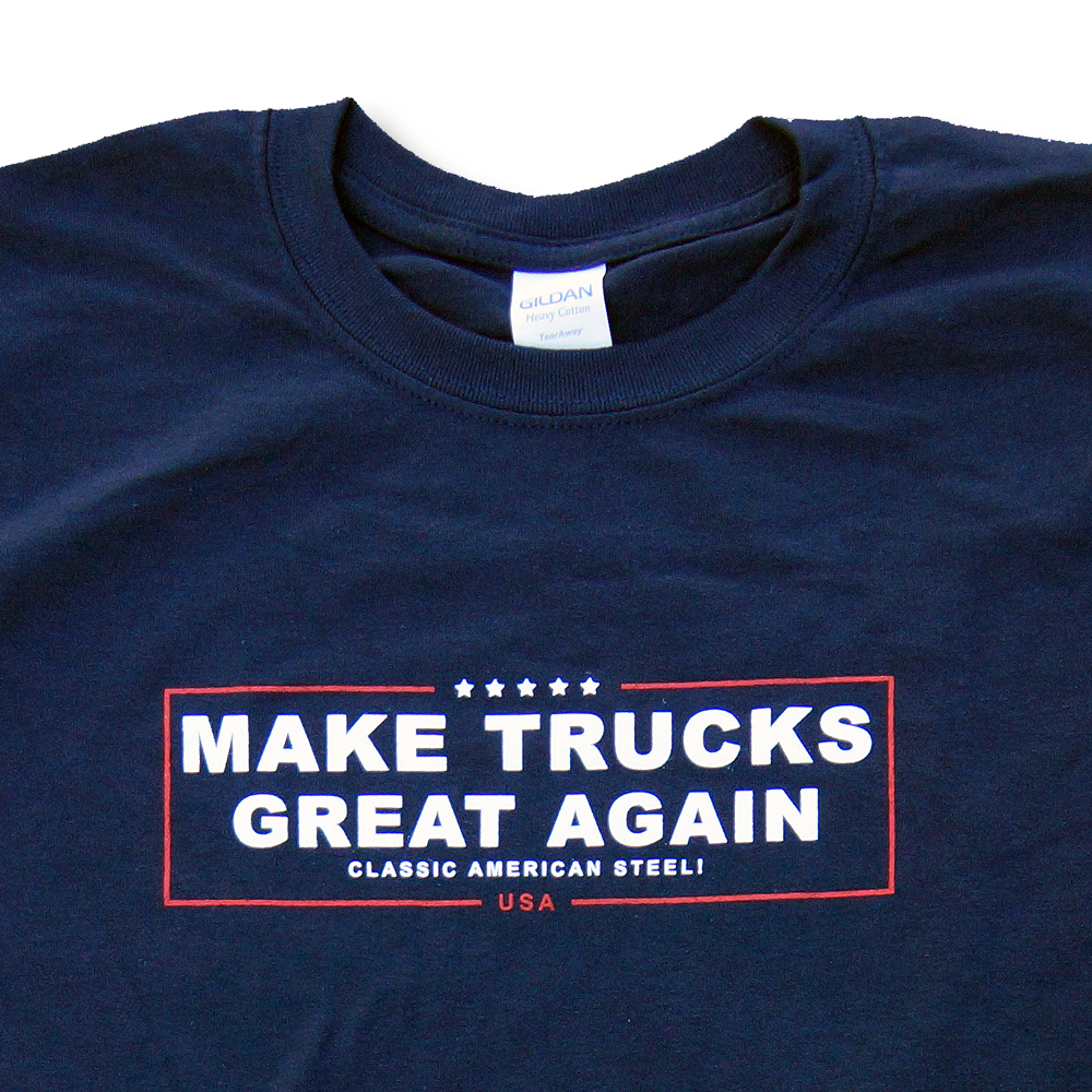 Make Trucks Great Again Shirt Front Detail