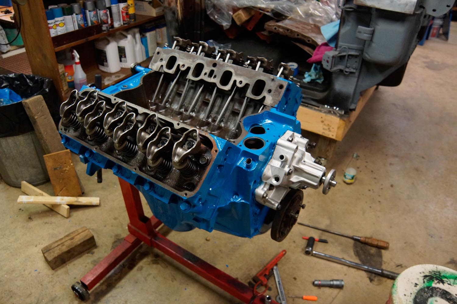 1978 Ford F250 >> 1978 F250 Build Post 18 - 351M Engine Assembly Part 1 ...